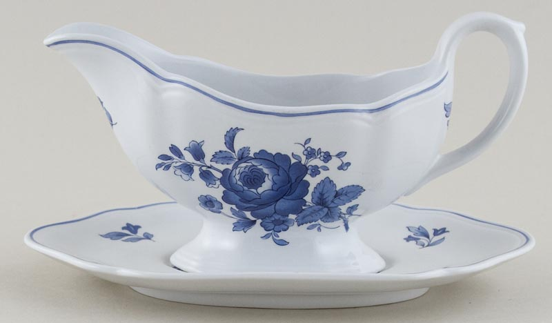 Spode Fontaine Sauce Boat and Stand c1993