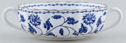 Spode Blue Colonel Soup Cup c1980