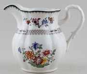 Spode Chinese Rose colour Jug or Pitcher c2000