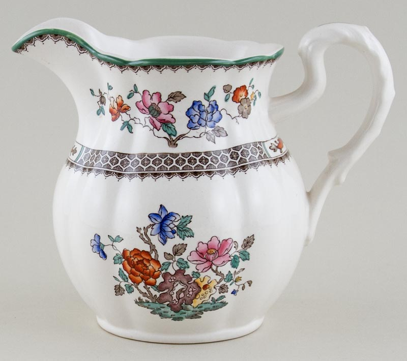 Spode Chinese Rose colour Jug or Pitcher c1980