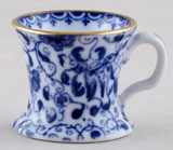 Spode Unidentified Pattern Miniature Mug c1910