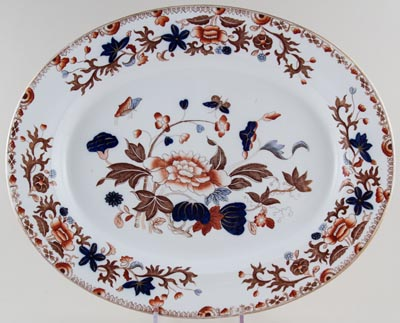Spode Bang Up colour Meat Dish or Platter c1904