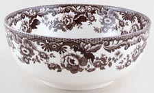 Spode Woodland brown with colour Bowl Lapwing c2005