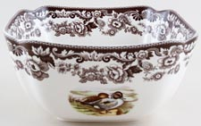 Spode Woodland brown with colour Bowl c2006