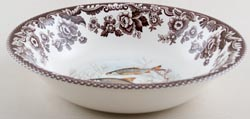Spode Woodland brown with colour Soup or Dessert Bowl Roach c2004