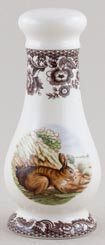 Spode Woodland brown with colour Salt Pot c2005