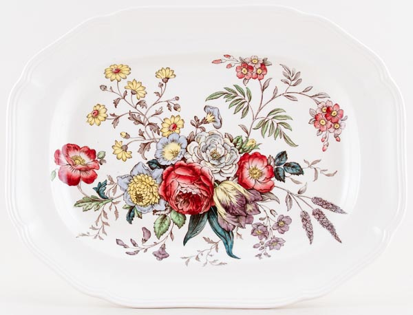 Spode Gainsborough colour Meat Dish or Platter c1950