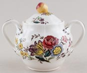 Spode Gainsborough colour Covered Sugar c1950