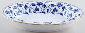 Spode Blue Colonel Dish c1991