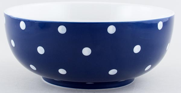 Spode Baking Days blue dark Bowl c2007