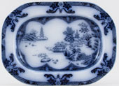 Spode Landscape Sauce Tureen Stand c1913