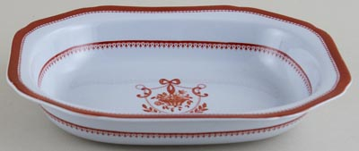 Spode Newburyport Red Dish c1960s