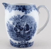 Spode Byron Jug or Pitcher Galloway c1890