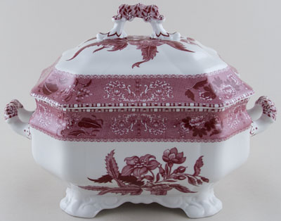 Spode Camilla pink Soup Tureen c2008