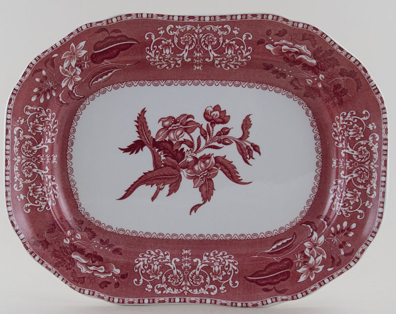Spode Camilla pink Meat Dish or platter c1993