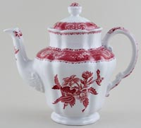 Spode Camilla pink Coffee Pot c1976