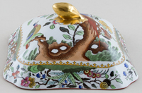 Spode Pheasant colour Vegetable Dish Lid c1911