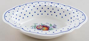 Spode Polka Dot colour Dish c1954
