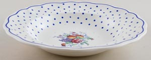 Spode Polka Dot colour Soup Plate c1940s
