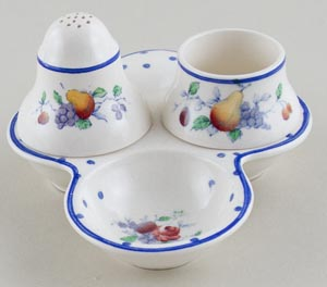 Spode Polka Dot colour Cruet c1930s