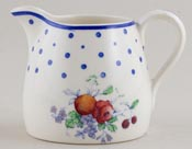 Spode Polka Dot colour Jug or Creamer Perfection c1930s