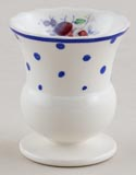 Spode Polka Dot colour Egg Cup c1950
