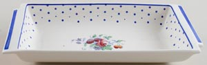 Spode Polka Dot colour Dish c1950s