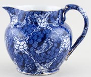 Brown and Steventon Bluebird Chintz Jug or Pitcher c1920s