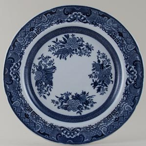 Spode Trophies Plate c1890s