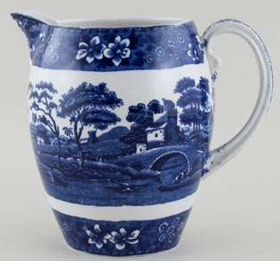 Spode Tower Jug or Pitcher Galloway c1930