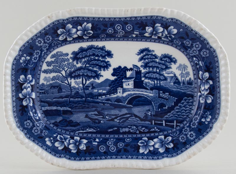 Spode Tower Meat Dish or Platter c1958
