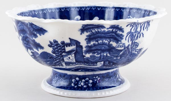 Spode Tower Bowl Footed c1919