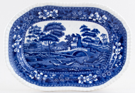 Spode Tower Meat Dish or Platter c1915