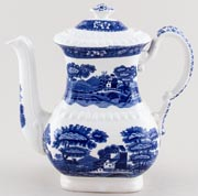 Spode Tower Coffee Pot c1930s