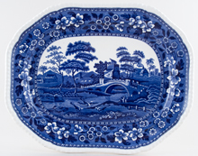 Spode Tower Meat Dish or Platter c1914