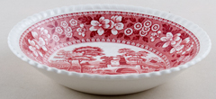 Spode Tower pink Fruit Saucer c1950s