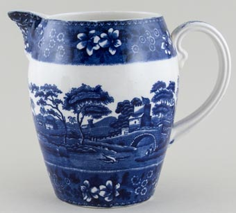 Spode Tower Jug or Pitcher Balloway c1930s