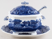 Spode Tower Sauce Tureen c1918