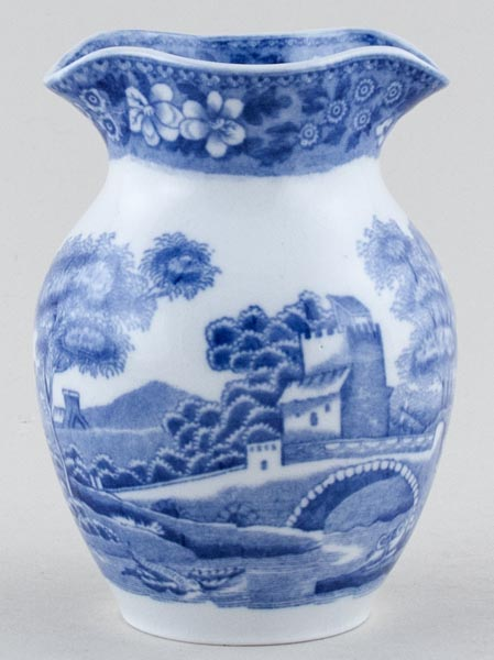 Spode Tower Vase C1920 Lovers Of Blue And White