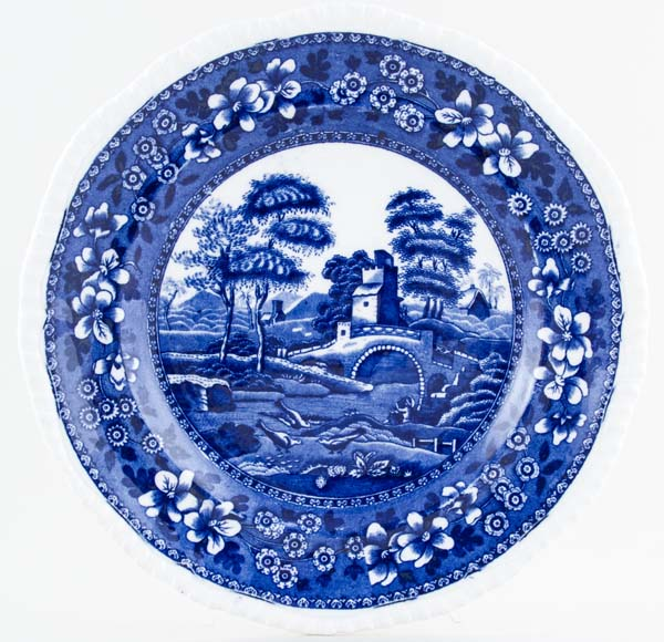 Spode Tower Plate c1901