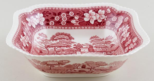 Spode Tower pink Bowl c1986