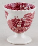 Spode Tower pink Egg Cup c1930s