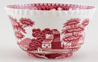 Spode Tower pink Sugar Bowl c1930s