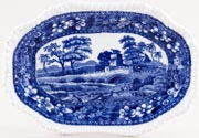 Spode Tower Sauce Boat Stand c1899