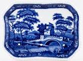 Spode Tower Cheese Dish Base c1930s