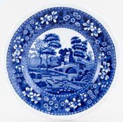 Spode Tower Plate c1897