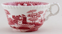 Spode Tower pink Breakfast Cup c1950s