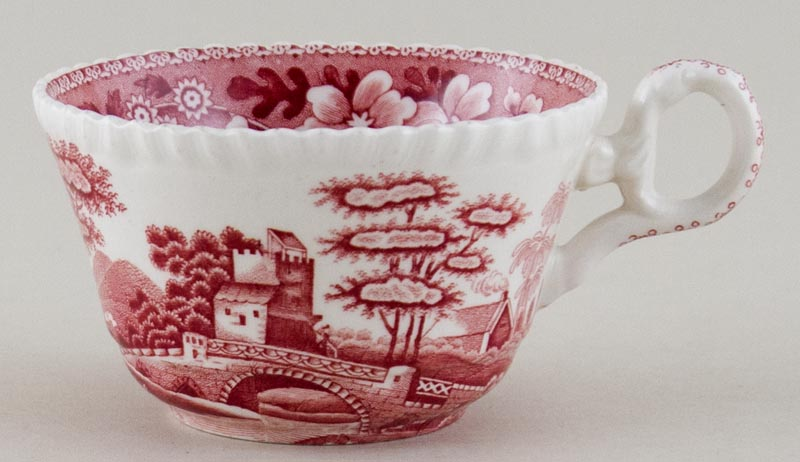 Spode Tower pink Teacup c1970s