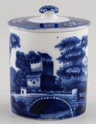 Spode Tower Preserve Pot small 1930s