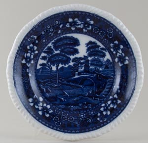Spode Tower Plate c1920